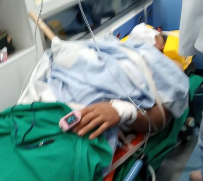 Jovem foi transpassado por lasca de madeira e está internado em UTI em Porto Velho