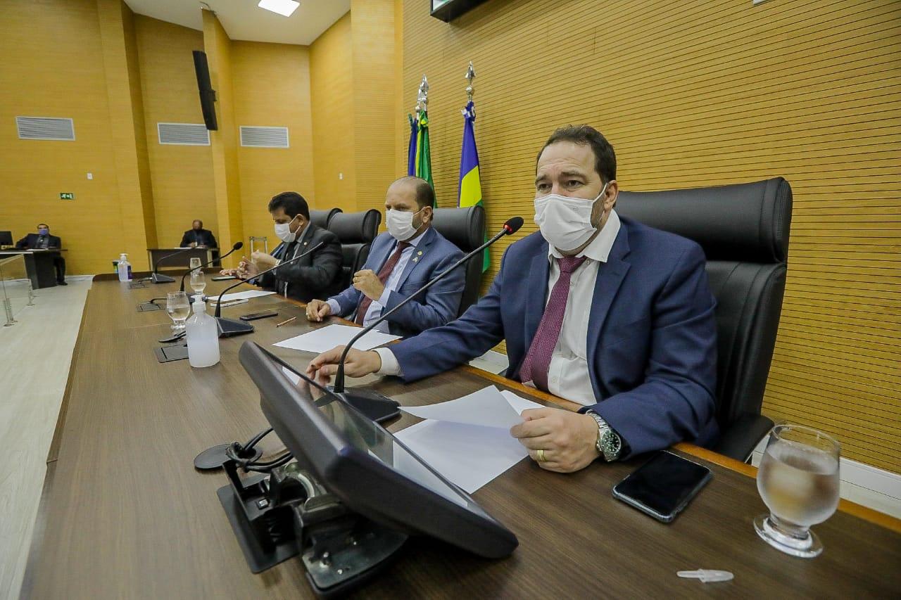Assembleia Legislativa discute solução para possível crise do oxigênio medicinal nos hospitais de Rondônia