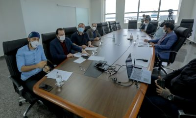 Presidente Alex Redano destaca medidas para evitar falta de oxigênio na rede hospitalar