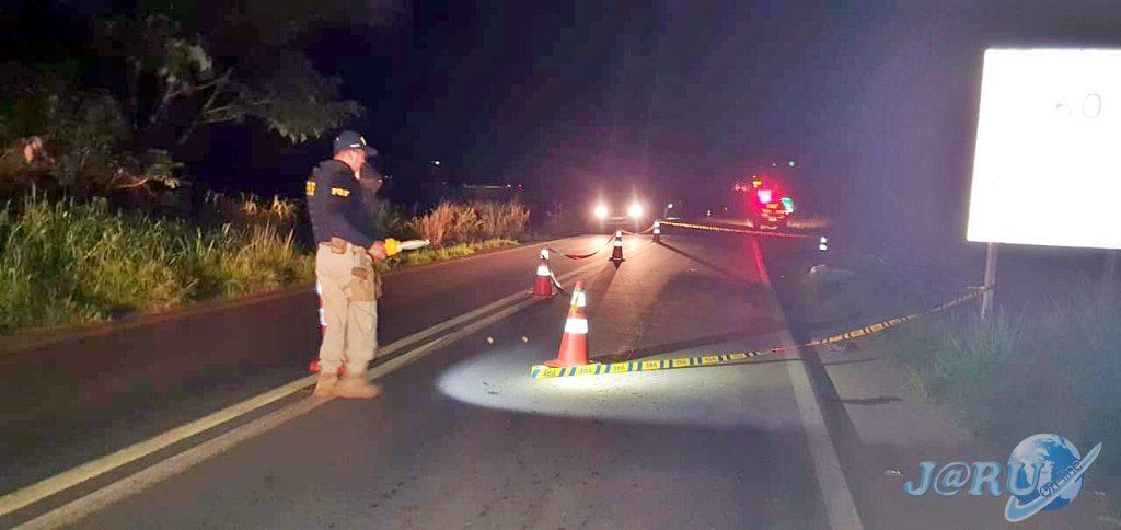 Motociclista perde o controle e morre após passar por quebra-molas