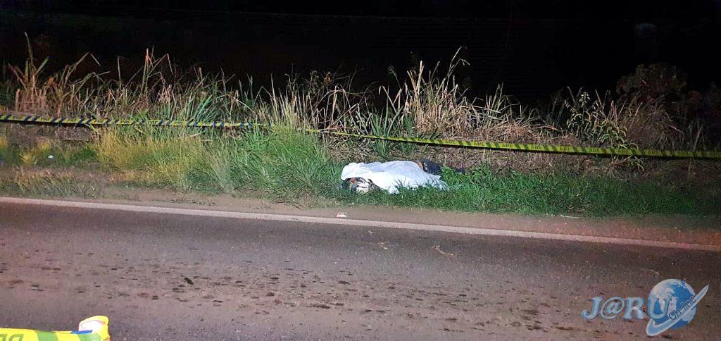 Motociclista morre após passar por quebra-molas na BR-364