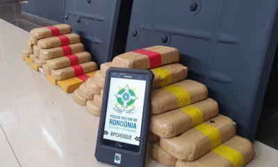 Batalhão de choque apreende 43 Kg de cocaína avaliada em R$ 700 mil reais