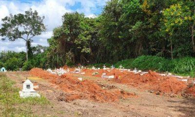 41 pessoas morrem de Covid-19 em Rondônia nesta terça-feira e 1.314 casos são confirmados