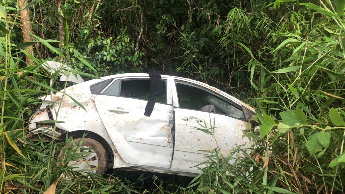 Enfermeira e técnica de enfermagem de Porto Velho sofrem grave acidente na BR-319