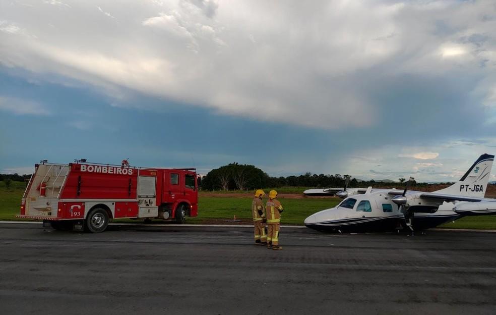 Avião do Senador Acir Gurgacz sofre pane e faz pouso forçado no interior de Rondônia