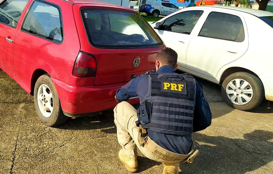PRF recupera três motos e dois carros roubados durante operação semana santa