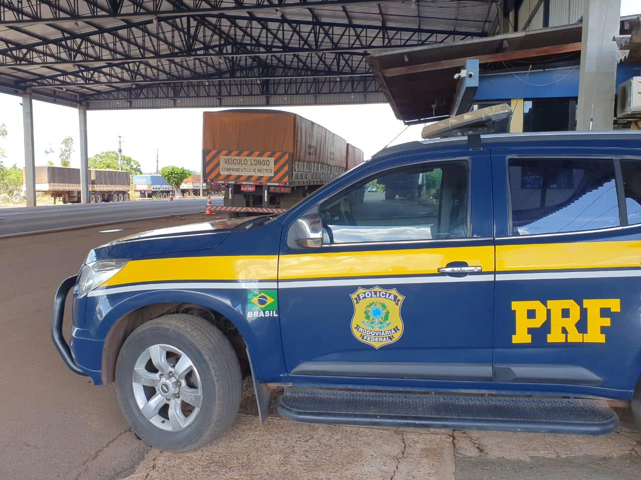 PRF recupera três motocicletas roubadas durante abordagem na BR-364