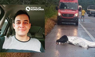 Jovem morre após ter cabeça arrancada do corpo em grave acidente na BR-364