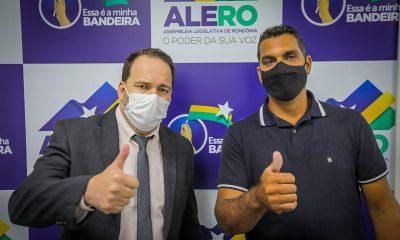Presidente Alex Redano garante R$ 300 mil para recuperação de estradas em São Miguel do Guaporé