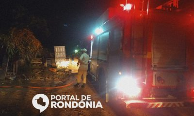 Incêndio destrói associação dos moradores da Vila Princesa e idoso fica sem local pra morar