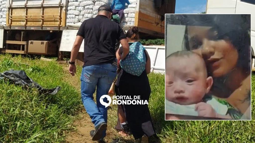 Mulher suspeita de matar e esquartejar o filho recém-nascido é presa em Porto Velho