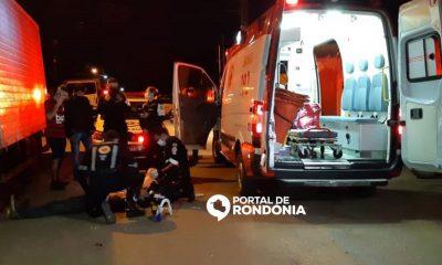 Ciclista morre após ser atropelado por motoqueiro sem habilitação na zona leste de Porto Velho