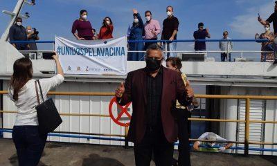 Vereador Valtinho Canuto viaja ao Baixo Madeira para acompanhar o Barco Saúde