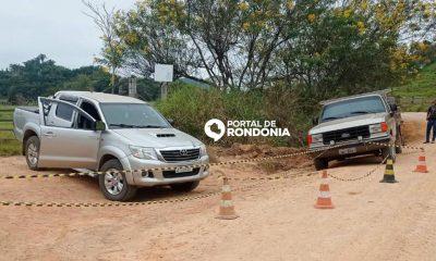 Avô e neta de 11 anos são mortos a tiros em área rural de Rondônia