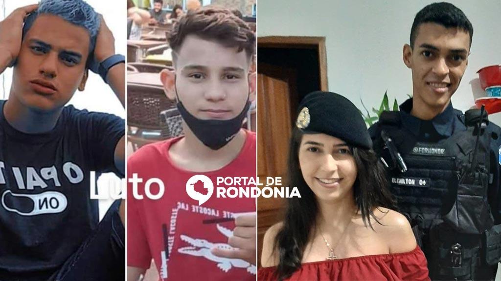 Dois irmãos, policial militar e a namorada morrem em grave acidente no interior de Rondônia