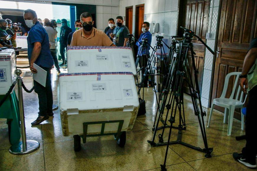Rondônia já recebeu mais de 1 milhão de doses de vacinas do Ministério da Saúde