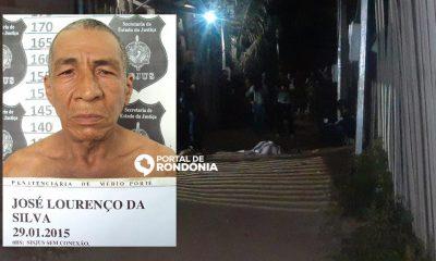 Ex-presidiário de 70 anos é morto a tiros na Vila Princesa em Porto Velho