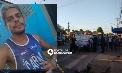 Homem é morto a tiros em frente de conveniência na Zona Sul de Porto Velho