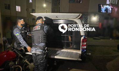 Polícia Militar prende dois jovens após homicídio e apreende armas que podem ter sido usadas no crime