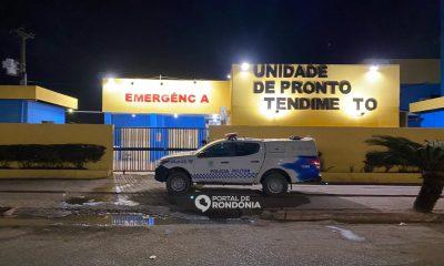 Dois jovens são baleados em bar enquanto assistiam ao jogo do Flamengo em Porto Velho