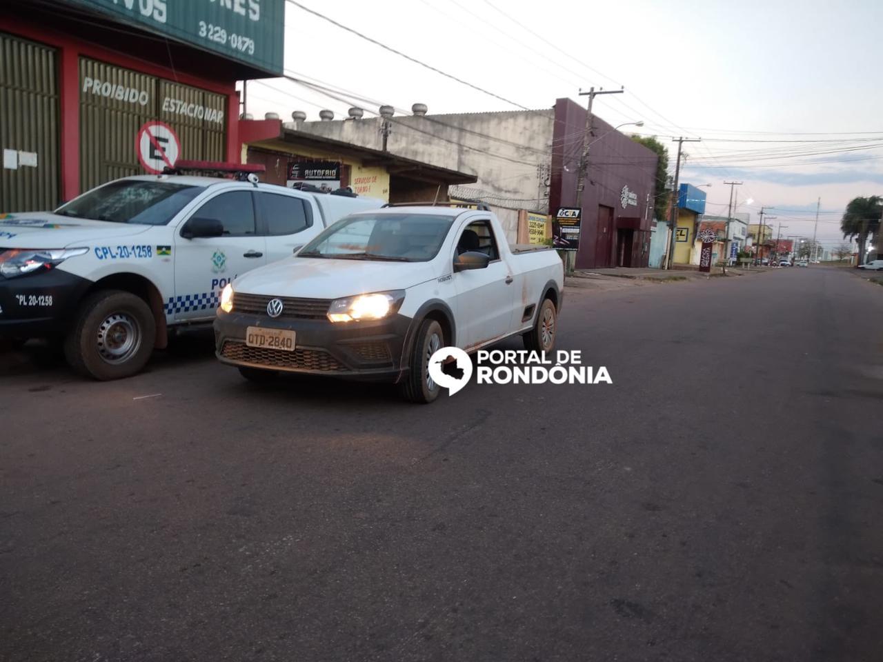 Homem é preso com carro furtado em Porto Velho