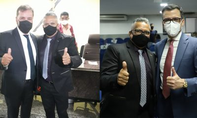 Vereador Valtinho Canuto participa da abertura do segundo semestre letivo da Câmara Municipal