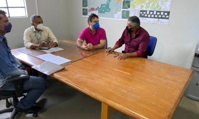 Vereador Valtinho Canuto visita Superintendente dos Distritos para tratar de melhorias para a região do baixo madeira