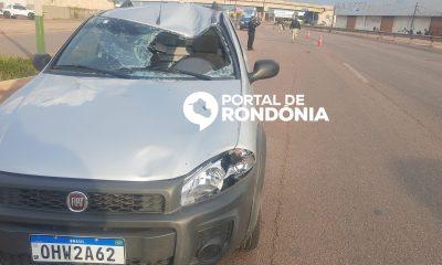 Homem é atropelado por carro na BR-364 em Porto Velho